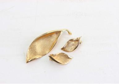 Комплект Золотые листья