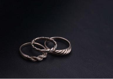 Кольца Плетенка