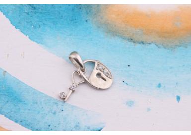 Подвеска Ключ от сердца