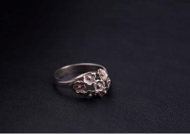 Кольцо Цветочное лукошко
