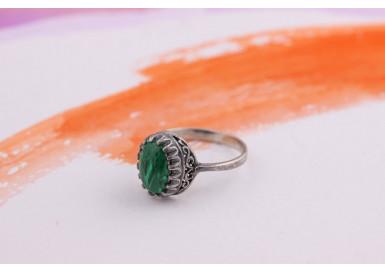 Кольцо Зеленый луг-1