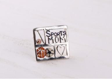 Брошь Sports mom