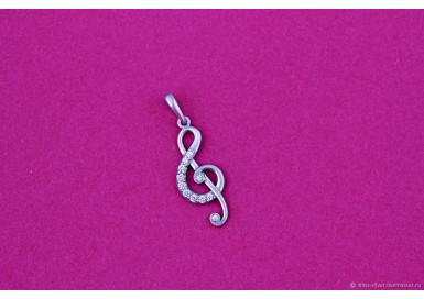 Подвеска Скрипичный ключ