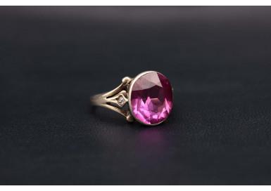 Кольцо Розовая робуста