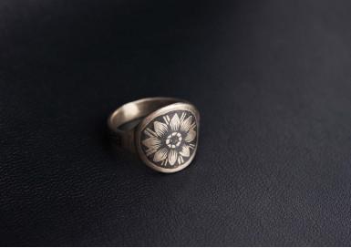 Кольцо Подсолнух