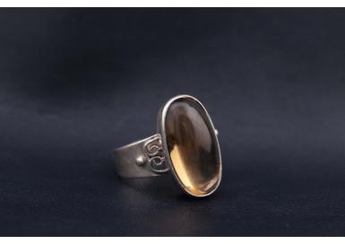 Кольцо Солнечная капля