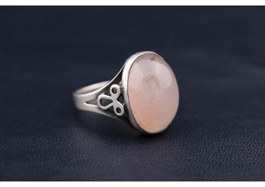 Кольцо Розовый туман