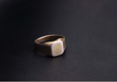 Кольцо Чистый лист